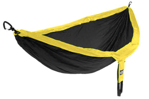 DoubleNest Hammock-Black | Yellow