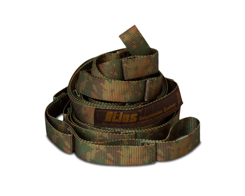 Atlas Camo Hammock Suspension System-Forest Camo