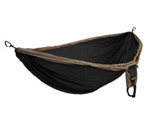 Load image into Gallery viewer, DoubleDeluxe Hammock-Khaki | Black