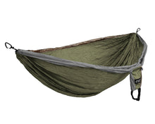 Load image into Gallery viewer, DoubleDeluxe Hammock-Khaki | Olive | Grey