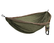 Load image into Gallery viewer, DoubleDeluxe Hammock-Khaki | Olive