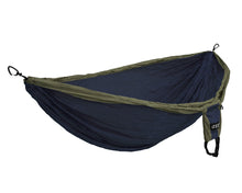 Load image into Gallery viewer, DoubleDeluxe Hammock-Navy | Olive