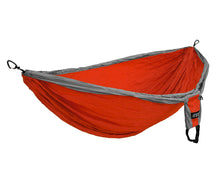 Load image into Gallery viewer, DoubleDeluxe Hammock-Orange | Grey