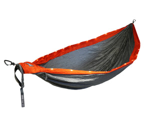 DoubleNest LED Hammock-Orange | Grey