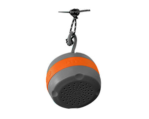 (ECHO) Bluetooth Speaker-Charcoal | Orange