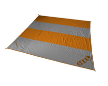 Load image into Gallery viewer, Islander Blanket-Orange | Grey