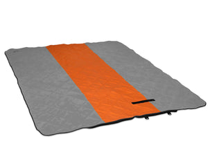 LaunchPad Blanket-Orange | Grey