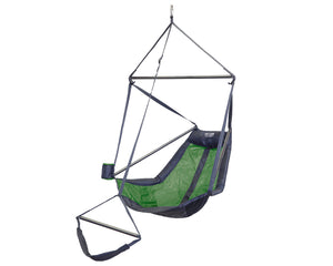 Lounger Hanging Chair-Lime | Charcoal