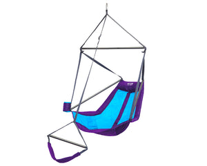 Lounger Hanging Chair-Purple | Teal