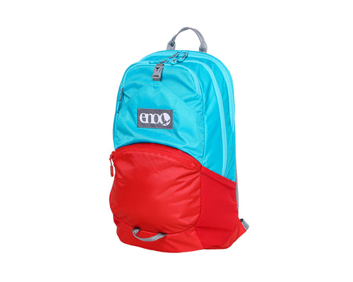 Manchester Daypack-Aqua | Red