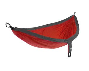 SingleNest Hammock-Red | Charcoal