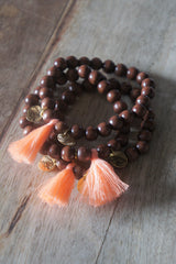 Bracelets sihu navajo ethnique gypset perles bois naturel natural hippie chic pompon spring summer bijoux made in france