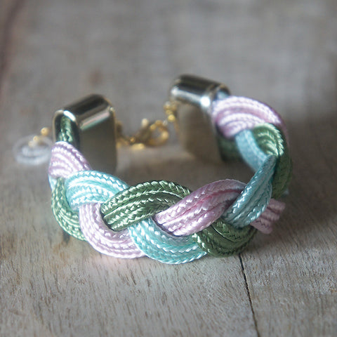 "Bracelet ""Wided"" Rainbow Sorbet"