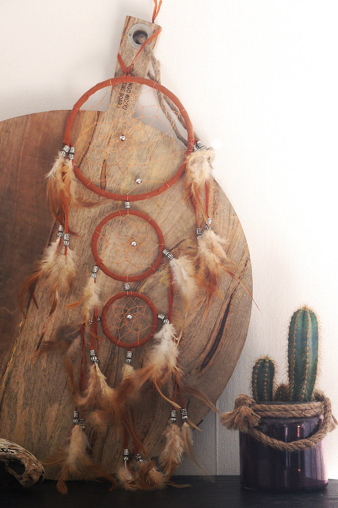 dream catcher attrape reve amerindien pas cher native american deco decoration origine navajo