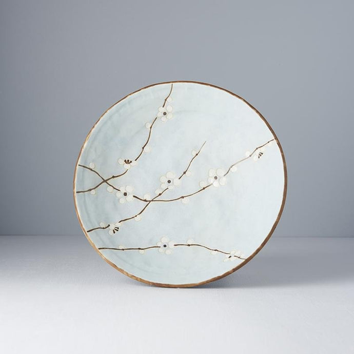 Blue Blossom Shallow Open Bowl 24cm · €19 · Home & Garden > Kitchen & Dining > Tableware > Dinnerware > Plates · CURATED BY EYEDS | eyeds.se