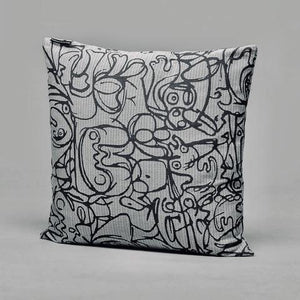 Cushion · Herringbone Edition · Artwork by Asger Jorn · Colour 3 Front