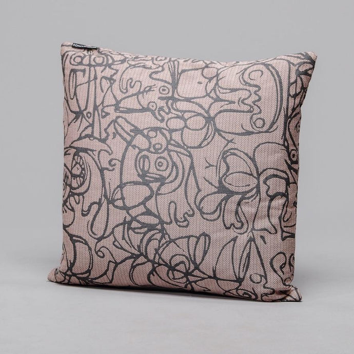 Cushion · Herringbone Edition · Artwork by Asger Jorn · Colour 4 Front