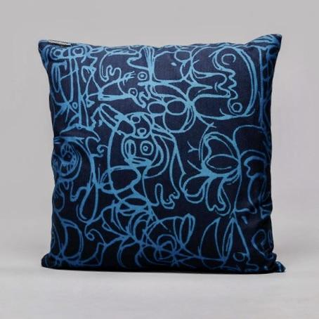 Cushion · Herringbone Edition · Artwork by Asger Jorn · Colour 8