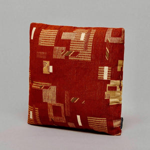 EPOCH · DÉCOR CUSHION · RUST D❍MICILECULTURE CURATED BY EYEDS