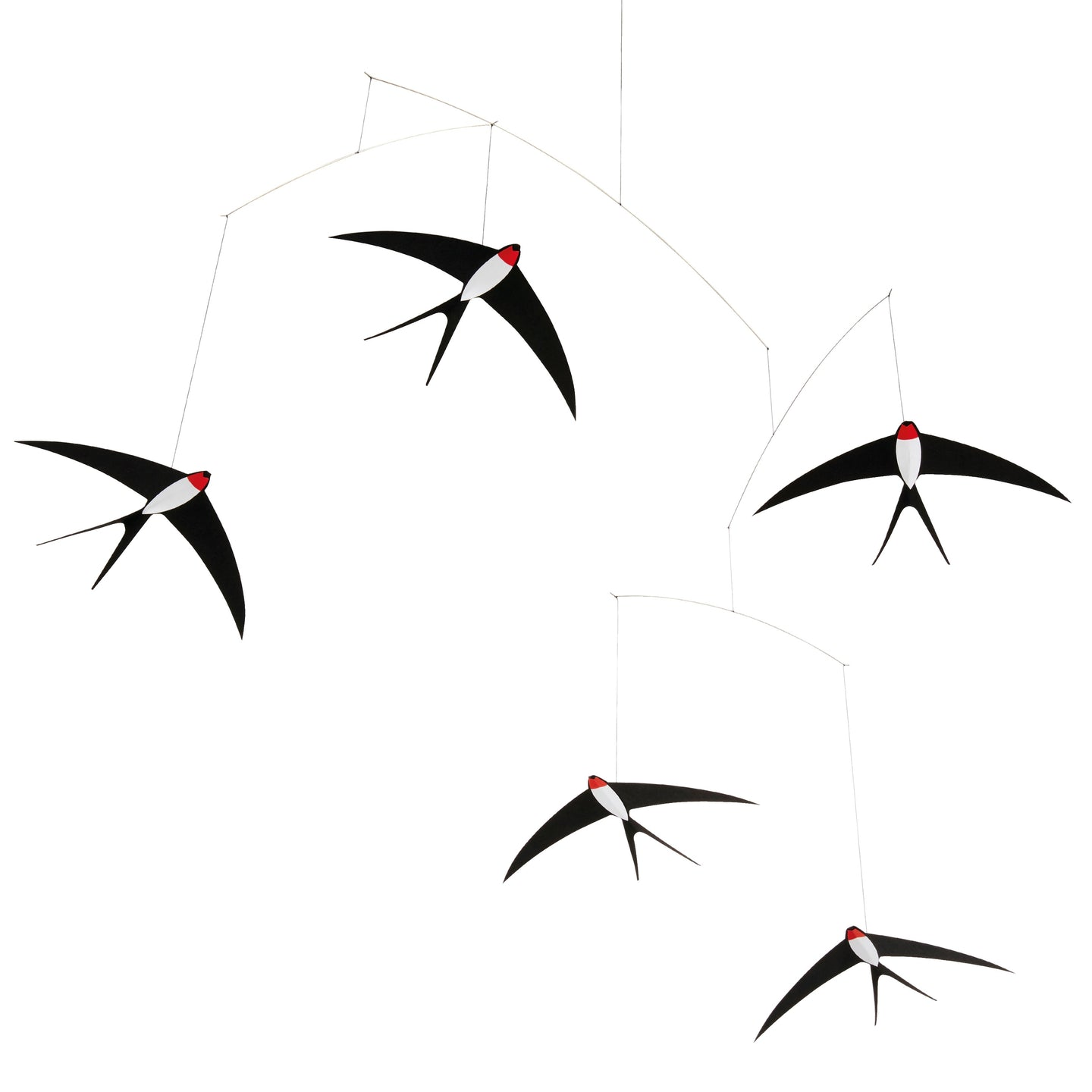 Mobile「Flying Swallows 5」by Flensted · €33 · Arts & Entertainment > Hobbies & Creative Arts > Arts & Crafts · FLENSTED · CURATED BY EYEDS | eyeds.se