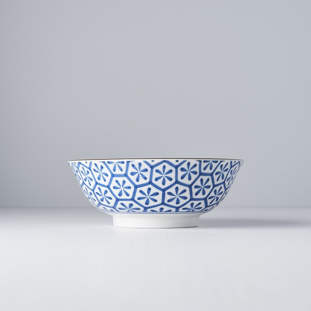 Large Bowl Hexagon Flower 20cm, €17, CURATED BY EYEDS