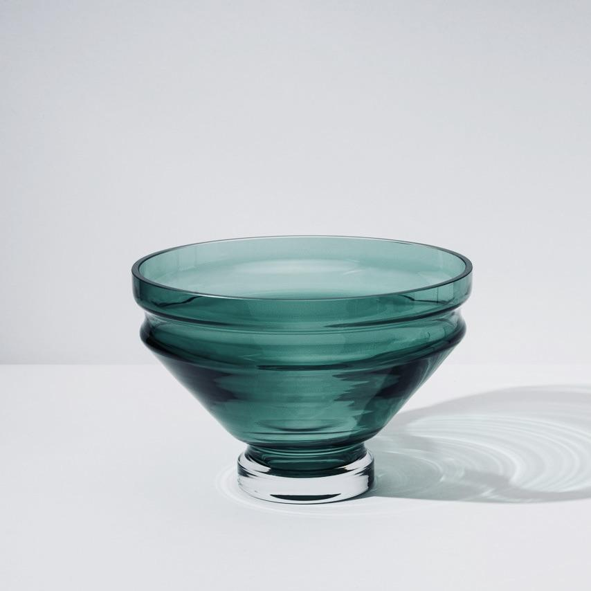 Large Glass Bowl「Relæ」by Raawii, €80, RAAWII · CURATED BY EYEDS