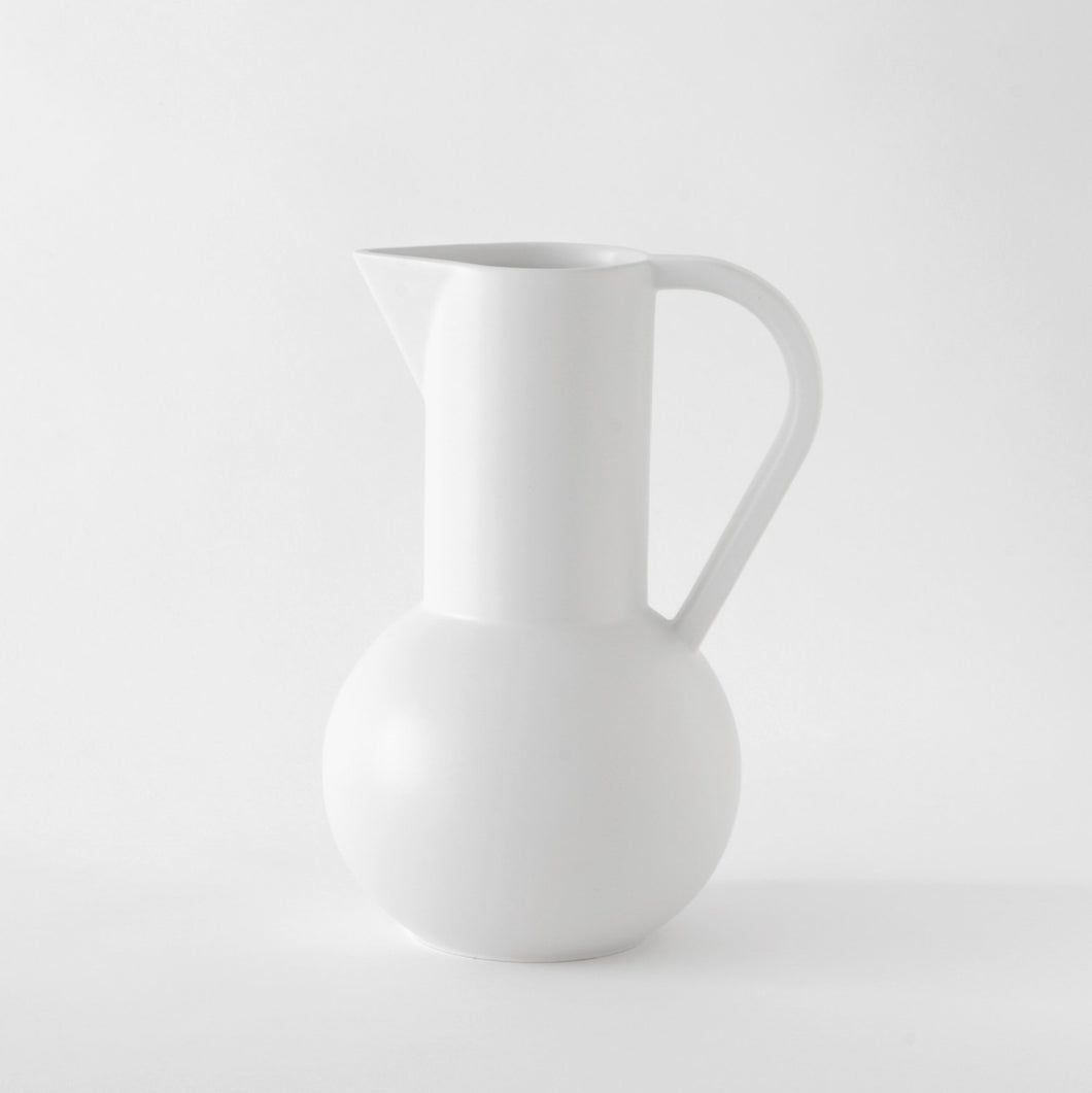 Large Jug「Strøm」Earthenware