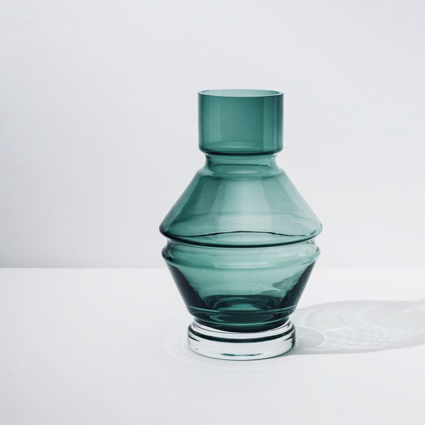 Large Glass Vase「Relæ」by Raawii, €80, RAAWII · CURATED BY EYEDS