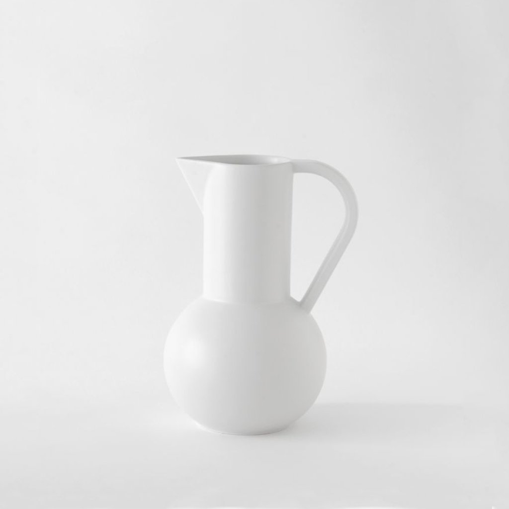 Medium Jug「Strøm」Earthenware by Raawii, €82, RAAWII · CURATED BY EYEDS