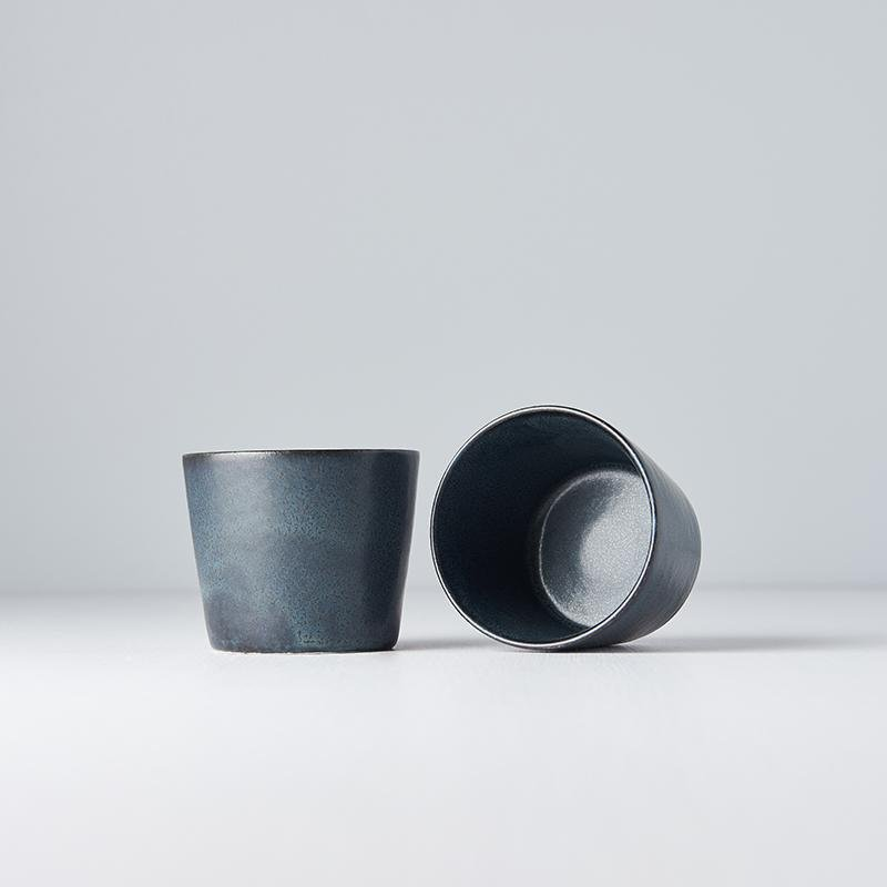 Ramekin Cup Blue & Black · €6 · Home & Garden > Kitchen & Dining > Tableware > Drinkware > Coffee & Tea Cups · CURATED BY EYEDS | eyeds.se