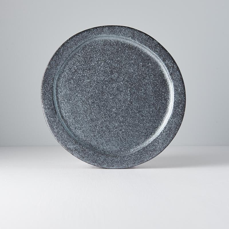 Round Plate Craft Black 25.5cm · €35 · Home & Garden > Kitchen & Dining > Tableware > Dinnerware > Plates · CURATED BY EYEDS | eyeds.se