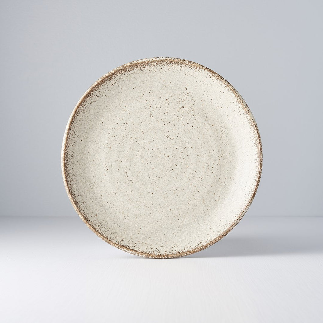 Sand Fade plate uneven 24cm