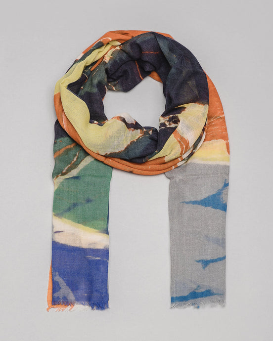 Scarf · Woodcut Print Edition · Artwork by Asger Jorn (1971)