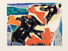 Load image into Gallery viewer, Scarf · Woodcut Print Edition · Artwork by Asger Jorn (1971)