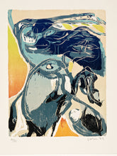 Load image into Gallery viewer, Scarf · Woodcut Print Edition · Artwork by Asger Jorn (1972)