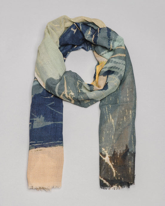 Scarf · Woodcut Print Edition · Artwork by Asger Jorn (1972)