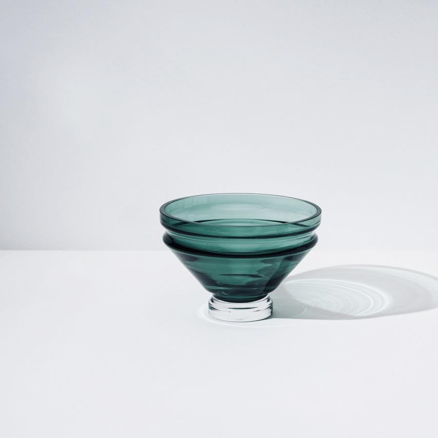 Small Glass Bowl「Relæ」by Raawii, €55, RAAWII · CURATED BY EYEDS