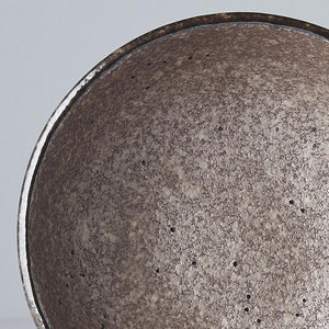 Small Earth Black Bowl 13cm