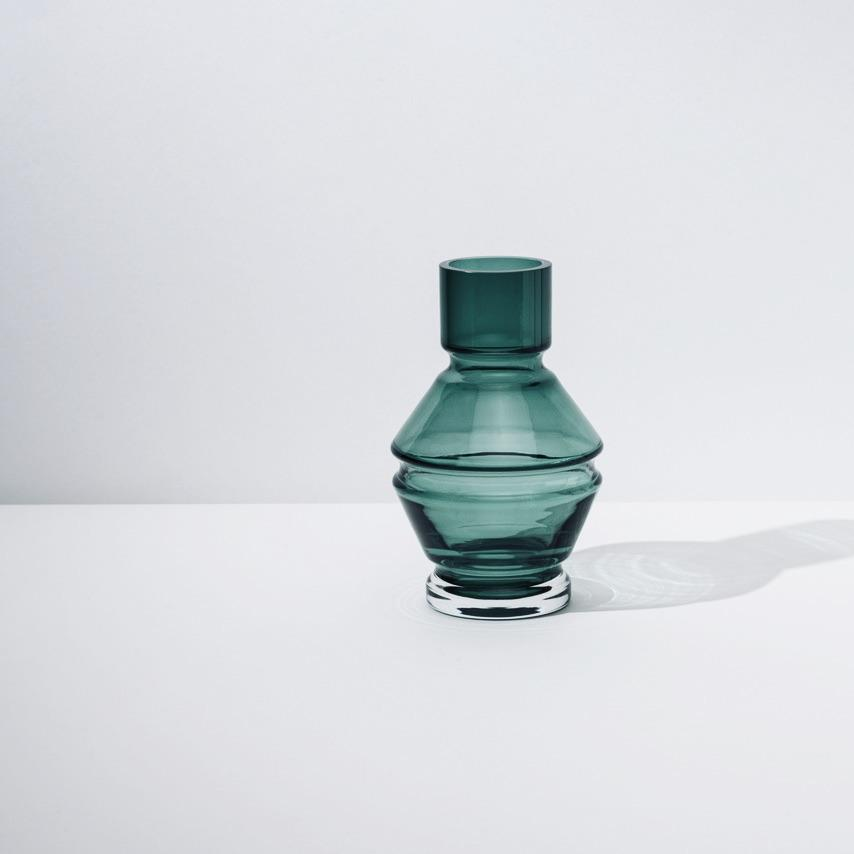 Small Glass Vase「Relæ」by Raawii, €55, RAAWII · CURATED BY EYEDS