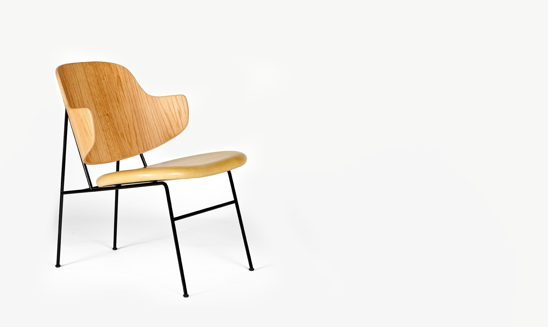 Penguin Chair x「Social Pattern」∘ Black Edition, €1390, KVIUM · CURATED BY DOMICILECULTURE