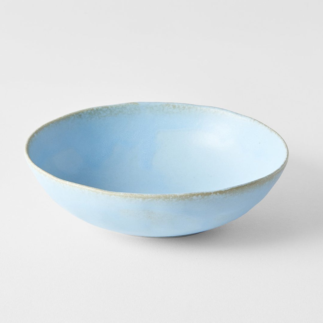 Medium Oval Bowl in Soda Blue 17cm · €11 · Home & Garden > Kitchen & Dining > Tableware > Dinnerware > Bowls · CURATED BY EYEDS | eyeds.se