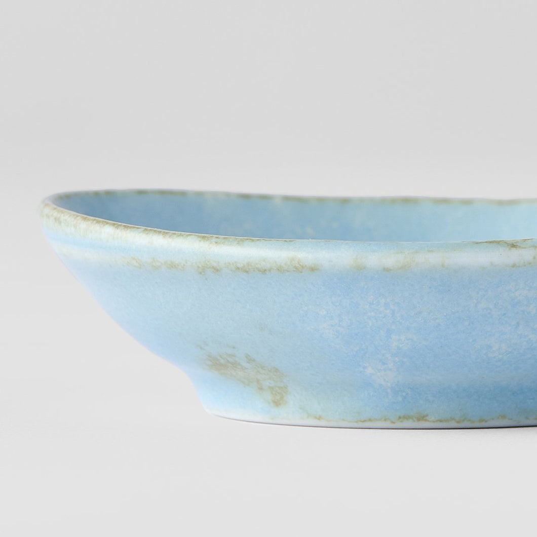 Soda Blue Sauce Dish Small Plate 8cm