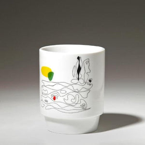 Thermo mugs with graphic motif by Asger Jorn · €17 · Home & Garden > Kitchen & Dining > Tableware > Drinkware > Mugs · ASGER JORN · CURATED BY EYEDS | eyeds.se