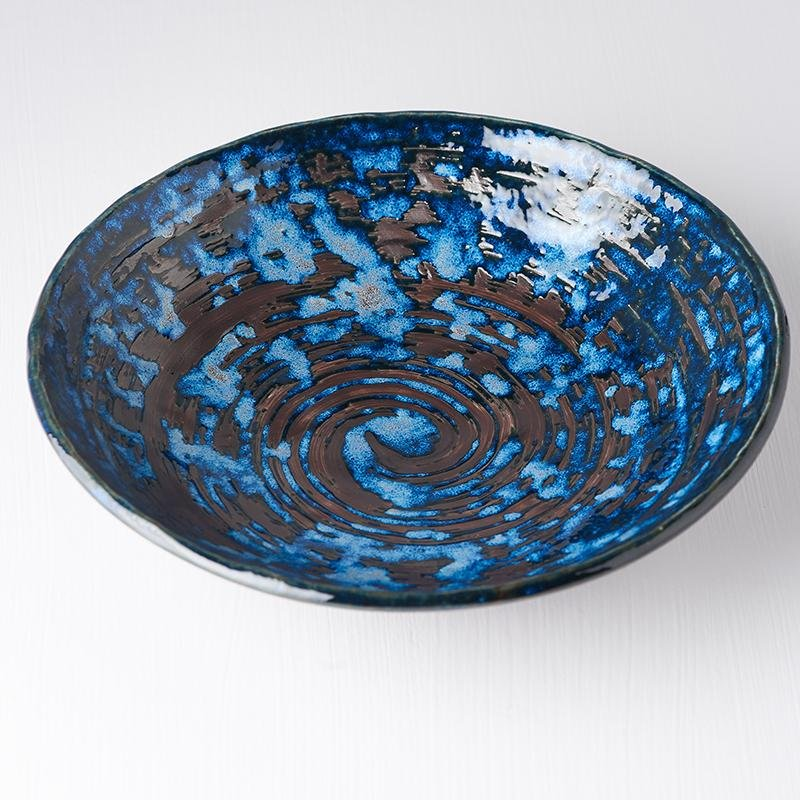 Uneven Large Bowl Copper Swirl 24cm, €20, CURATED BY EYEDS