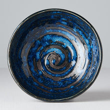 Load image into Gallery viewer, Uneven Small Copper Swirl Bowl 13cm