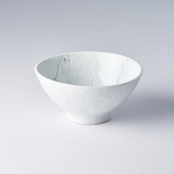 White Blossom Medium Shallow Bowl 16cm