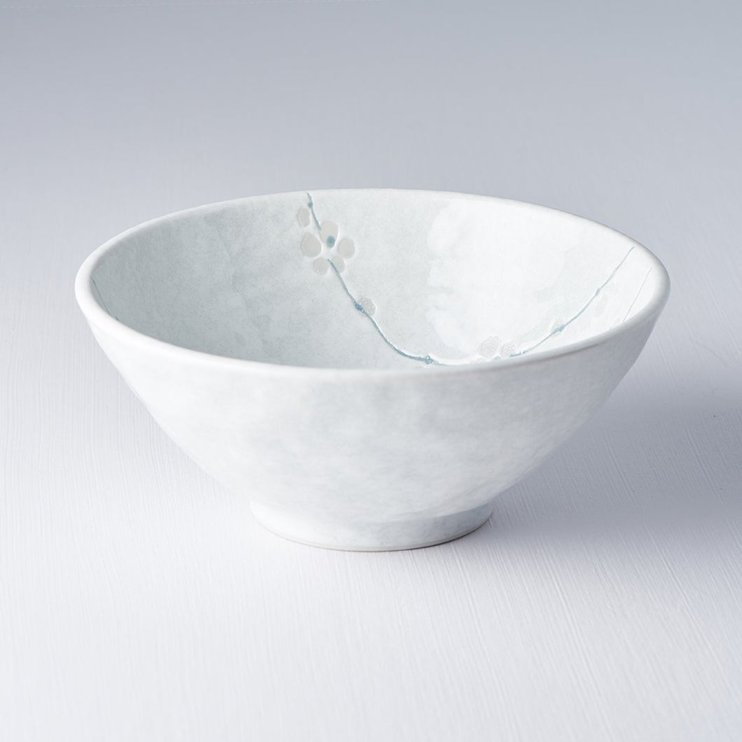White Blossom Udon Bowl 20cm · €13 · Home & Garden > Kitchen & Dining > Tableware > Dinnerware > Bowls · CURATED BY EYEDS | eyeds.se