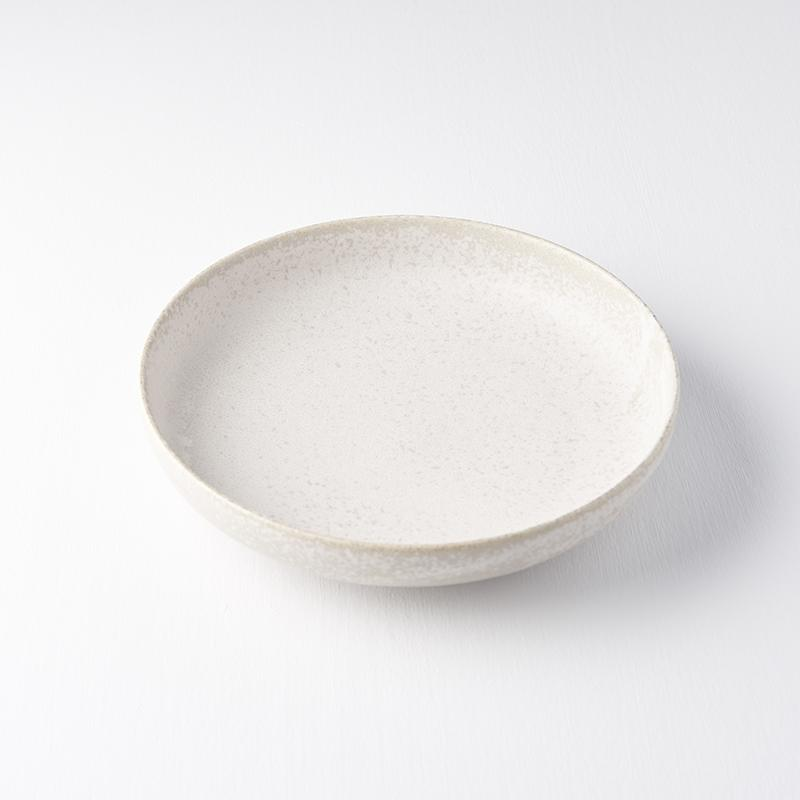 Plate with High Rim White Fade 20cm · €21 · Home & Garden > Kitchen & Dining > Tableware > Dinnerware > Plates · CURATED BY EYEDS | eyeds.se