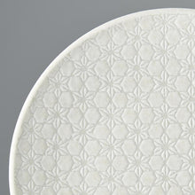 Load image into Gallery viewer, White Star Dinner Plate 25cm