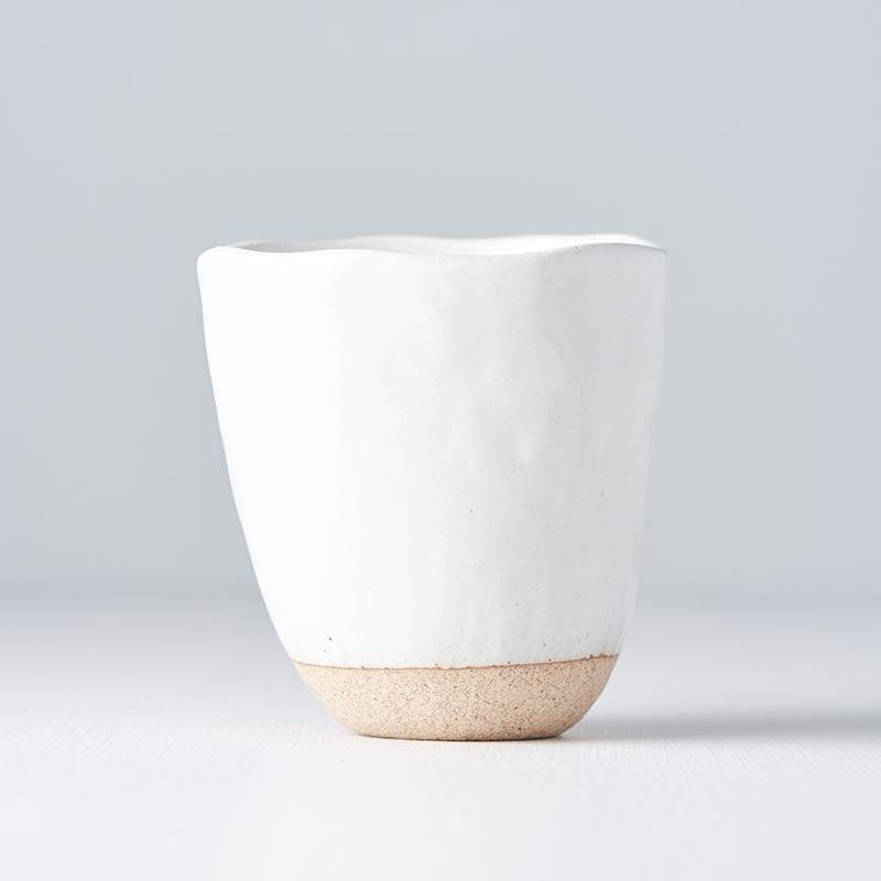 Elegant White Mug without Handle, €13, CURATED BY EYEDS